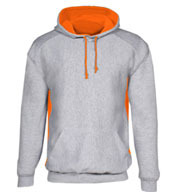 Custom Heavyweight Cross-Grain Colorblock Hooded Sweatshirt Now In 18 Colors! Mens