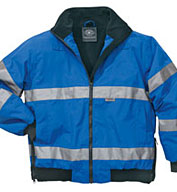 Custom Signal Hi-Vis Jacket ANSI 3 Compliant by Charles River Apparel Mens