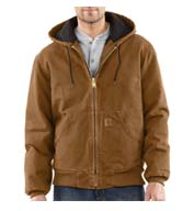 Custom Sandstone Active Jacket/Quilted Flannel Lined Mens