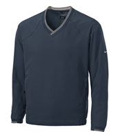 Custom V-Neck Nike Windshirt w/Trimmed Collar Mens