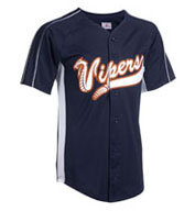 Custom Adult Diamond-Core Full Button Baseball Jersey with Mesh Side Inserts Mens