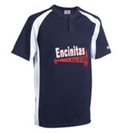 Custom Knuckler Adult 2-Button Placket Baseball Jersey Mens