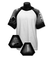 Custom Adult Football Design T-shirt