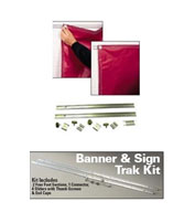Custom Banner And Sign Track Kit
