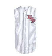 Custom Youth Pro Style Sleeveless 6 Button Front Jersey