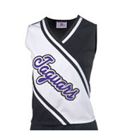 Custom Girls Deluxe Contrast Cheer Shell