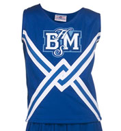 Custom Girls Deluxe Crossover Cheer Shell