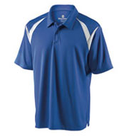 Custom Mens Laser Coaches Polo by Holloway