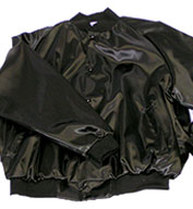 Custom Adult Pro-Satin Baseball Jacket with Solid Trim and Quilt Lining Mens
