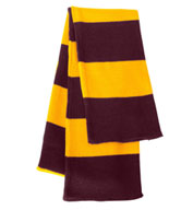 Custom Sportsman Rugby Striped Knit Scarf