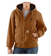 Custom Carhartt Women�s Sandstone Active Jac/Quilted Flannel Lined