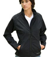 Custom Womens Blackcomb Convertible Softshell Jacket