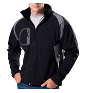 Custom Whistler Bi-color Softshell Jacket Mens