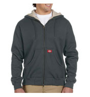 Custom Dickies Bonded Waffle Knit Hooded Jacket Mens