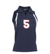 Custom Girls Heater Collared Volleyball Jersey
