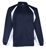 Custom Badger Adult Brushed Tricot Hook Jacket Mens