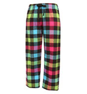 Custom Adult Drawstring Flannel Pants