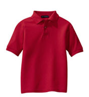 Custom Youth Silk Touch� Sport Shirt