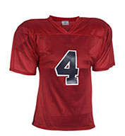 Custom Youth Flag Star Football Jersey