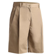 Custom Misses Pleated Utility Short