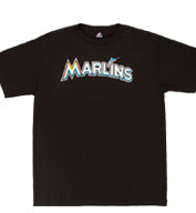 Custom Florida Marlins Youth Replica Jersey