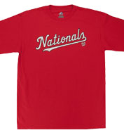 Custom Washington Nationals Adult Replica Jersey