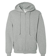 Custom Russell Dri-Power® Hooded, Zip Front Sweatshirt