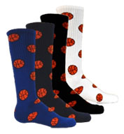 Custom Adult Red Lion Basketball Socks