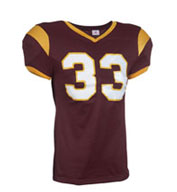 Custom Youth Grinder Steelmesh Football Jersey