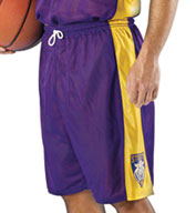 Custom Adult Basketball Replica Reversible Short by Alleson Mens