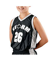 Custom Youth Basketball Replica Reversible Jersey by Alleson