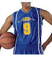 Custom Mens eXtreme Dazzle Reversible Basketball Game Jersey