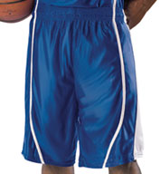 Custom Mens eXtreme Dazzle Reversible Game Basketball Short by Alleson