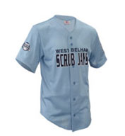 Custom Youth Fencebuster Solid Full Button Jersey