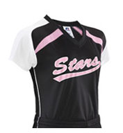 Custom Russell Athletic Girls Performance Raglan Sleeve Jersey