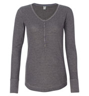 Custom J. America - Ladies Thermal Henley