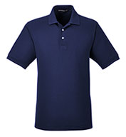 Custom Mens Pima Piqué Short-Sleeve Polo Mens