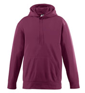 Custom Wicking Fleece Hooded Sweatshirt Mens