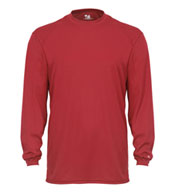 Custom Adult Badger B-Tech Long Sleeve Tshirt Mens
