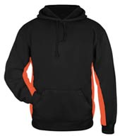 Custom Badger Adult Moisture Management Hooded Sweatshirt Mens