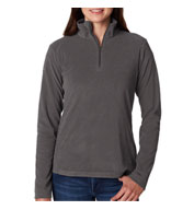 Custom Columbia® - Ladies Crescent Valley� 1/2-Zip Pullover