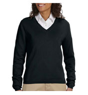 Custom Ladies V-Neck Sweater