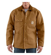 Custom Mens Duck Chore Coat/Blanket-Lined by Carhartt Mens