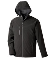 Custom Mens Soft Shell Jacket With Hood Mens