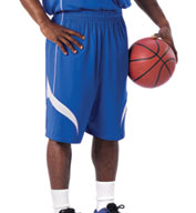 Custom Youth Reversible Basketball Short by Alleson
