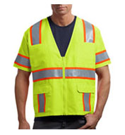 Custom CornerStone ANSI-Class 3 Dual-Color Safety Vest