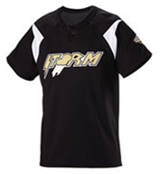 Custom Adult Pickoff Two-Button Baseball Jersey
