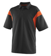 Custom Adult Wicking Textured Sideline Sport Shirt Mens