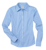 Custom Brooks Brothers Ladies Woven Shirt