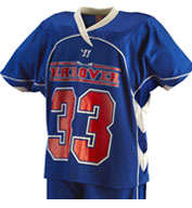 Custom Mens Liberty Game Lacrosse Jersey by Warrior Mens
